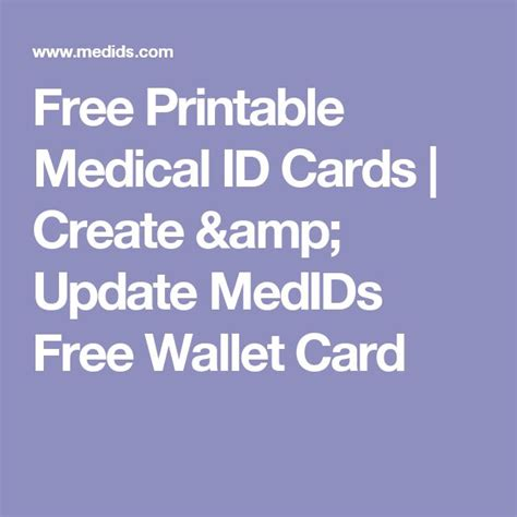 medical id card design 8 best a picture says a million words images on pinterest