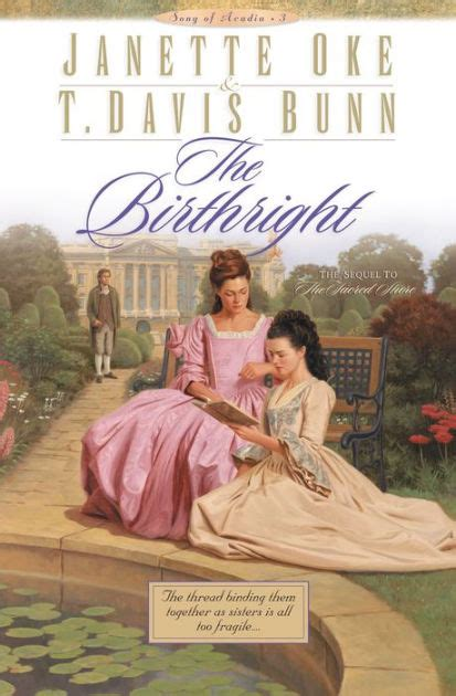 dal duch books the birthright by t davis bunn janette oke paperback