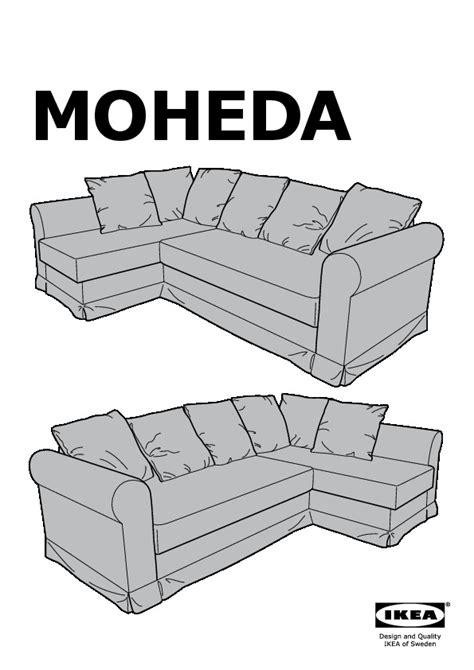 Moheda Corner Sofa Bed Blekinge Brown Ikea United Kingdom Ikea Moheda Sofa Bed