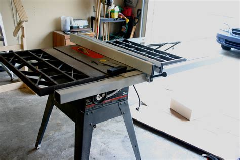 contractor table saw fence upgrade fence upgrade option for craftsman cast iron table