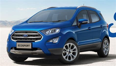 price of ford ecosport diesel in india ford ecosport facelift launched in india at rs 7 31 lakh
