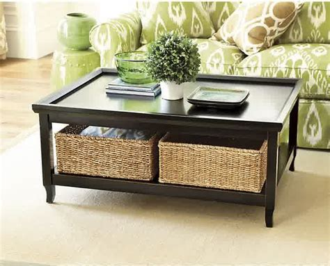 coffee table with baskets inspiring designs of coffee table with baskets homesfeed