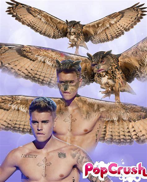 justin bieber animal tattoo celebrity spirit animals justin bieber transforms into an owl