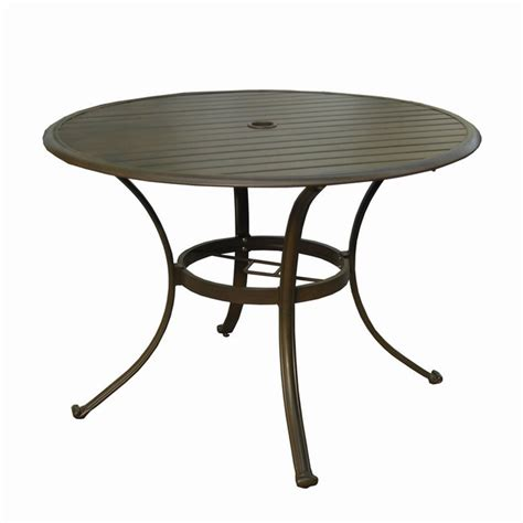 Umbrella Patio Table Outdoor Coffee Table With Umbrella Design Roy Home Design