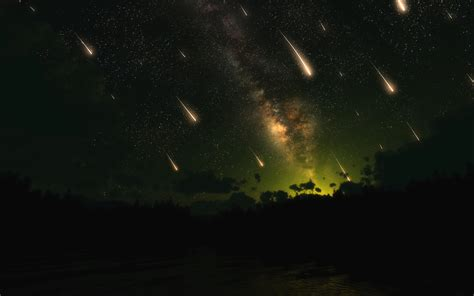 A Meteor Shower by Beaver Moon 2013 And The Leonid Meteor Shower The