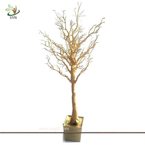 O Tree How Plastic Are Your Branches by Uvg Dtr06 Pe Plastic Tree Gold Branches For