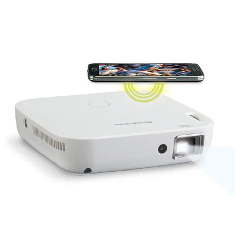 Brookstone Gift Card Discount - wireless mobile projector 100 lumens at brookstone buy now