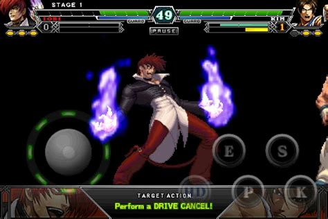 kof 13 apk скачать the king of fighters a 2012 1 0 1 для android