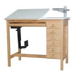 Drafting Table Computer Desk Smi Ct6 Oak Drafting Computer Table