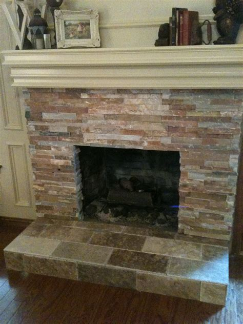 What To Do With Brick Fireplace by Tile Brick Fireplace Remodel