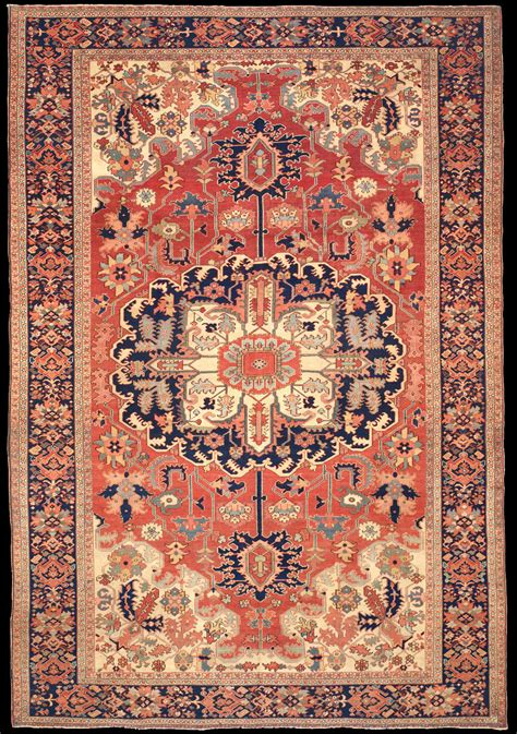 8x14 Rug antique serapi rug azerbaijan nw iran 9 8 quot x 14 7