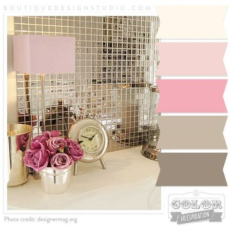pink and cream bathroom pink cream rose brown warm grey color palette liking
