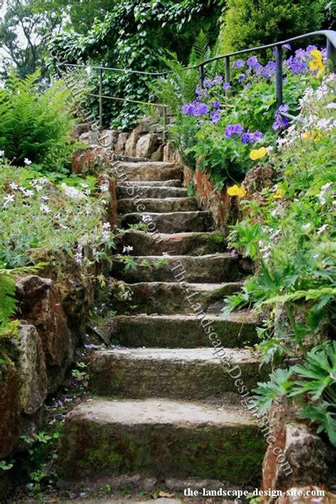 rock garden steps landscaping ideas steps on hill izvipi