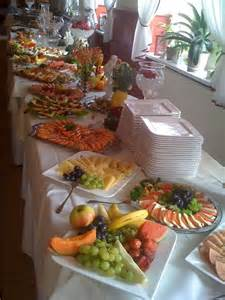 Lunch Buffet Table Seafood Cold Cuts Buffet Wedding Ideas