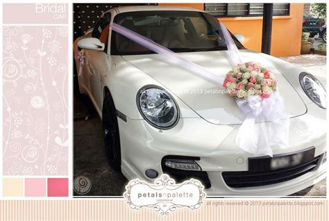 Bridal Car   Wedding Decoration Malaysia   Floral Design