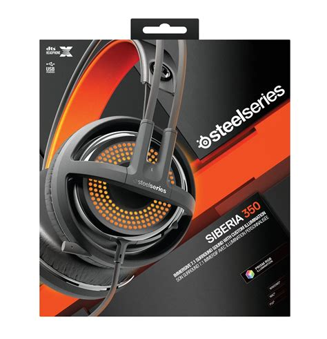 Headset Steelseries Siberia 350 steelseries siberia 350 pc and ps4 gaming headset gets