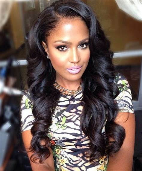 Weave Hairstyles With Side Bangs by 20 Gorgeous Weave Hairstyles For Godfather Style