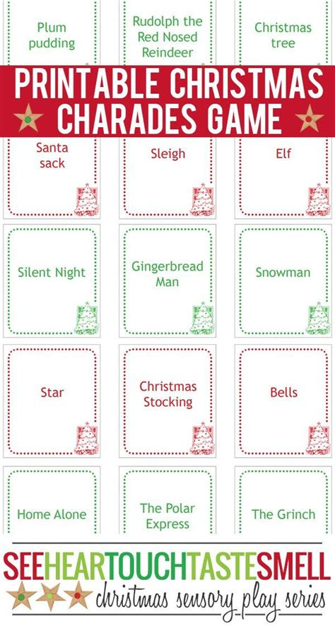 printable christmas picture games 40 free printable christmas games for kids game cards