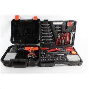 black and decker tool set black and decker drill and home repair tool