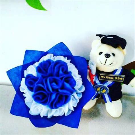 jua paket teddy bunga mawar merah murah jogja kado wisudaku