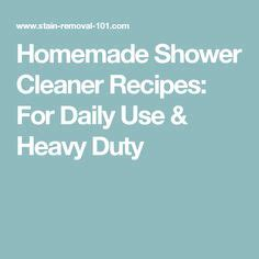 1000 ideas about daily shower cleaner on pinterest