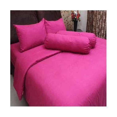 Bed Cover Seprei Pink Tua 120 X 200 X 20 Cm chelsea blibli