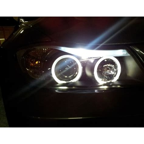 bmw headlights 3 series hid xenon 06 08 bmw e90 3 series sedan angel eye halo