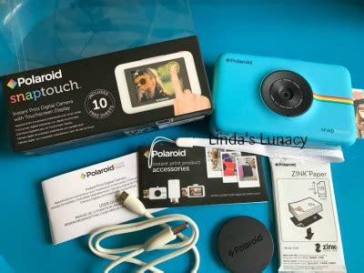 Polaroid Camera Giveaway 2017 - such a fun camera polaroid snap touch review giveaway linda s lunacy