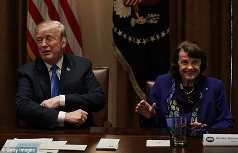 Domestic Violence Dismissed Background Check Feinstein Looks Excited In Gun Meeting With Daily Mail