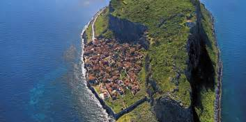 Beautiful Small Towns In America meet monemvasia a hidden fortress town perched on an