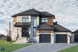 Villa Plan l habitat avec garage double maison neuve 224 233 tages gbd