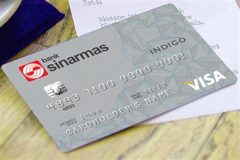 buat kartu kredit sinarmas indigo card secure credit card dari bank sinarmas