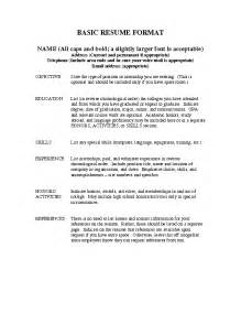 resume samples for inexperienced student 2