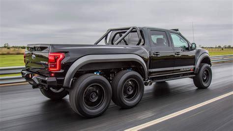 Velociraptor Ford by Hennessey Velociraptor 6x6 Road Truck Goes On Sale
