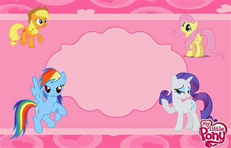 my little pony birthday invites futureclim info