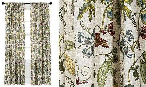 botanical curtains threshold botanical curtain lr decor pinterest