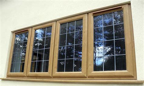 Bow Windows Cost irish oak upvc windows and doors irish oak woodgrain