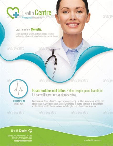 health flyer template 15 awesome premium business flyer templates