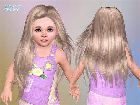 sims 3 toddler hair skysims hair toddler 251 geia
