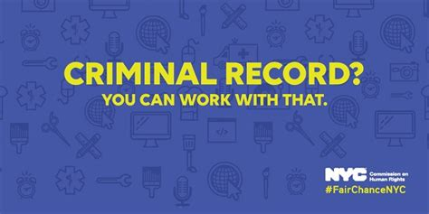 Can Employer Ask About Criminal Record Seekers With A Criminal Record Get A Second Chance At Employment With The Fair