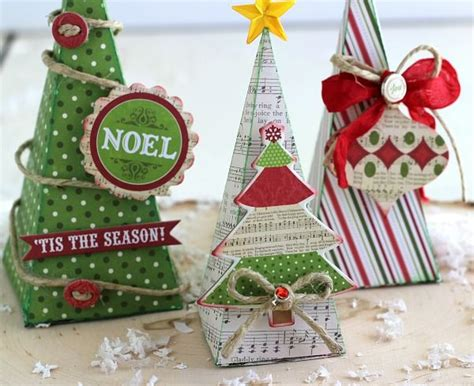 3d paper christmas tree with ribbon 178 best images about petal cone die su on