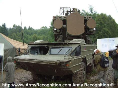 sa  gecko km air defense anti aircraft missile system czech army republic technical data sheet