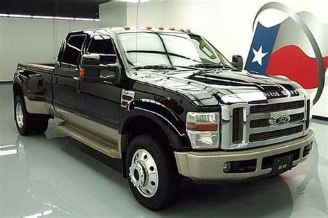 Sell used 2008 Ford F 450 King Ranch Crew Diesel 4x4