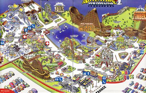 adventure map michigans adventure map michigan map