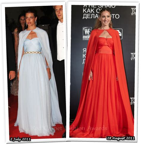 Who Wore Better Carpet Style Awards by Who Wore Giambattista Valli Couture Better
