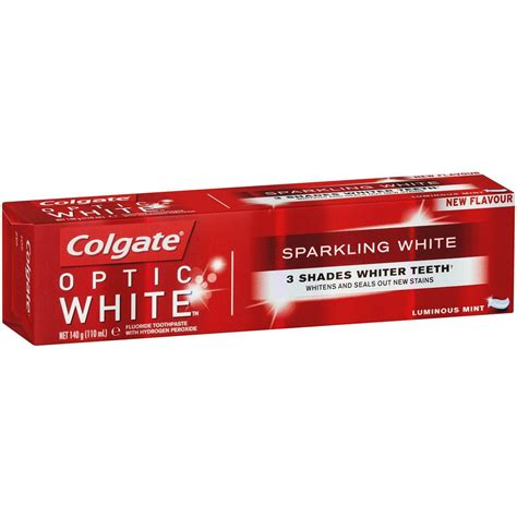 Harga Colgate Optic White by Colgate Optic White Whitening Toothpaste 140g Woolworths