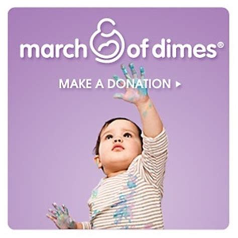 Donation Letter For March Of Dimes donations for the march of dimes at hsn because every
