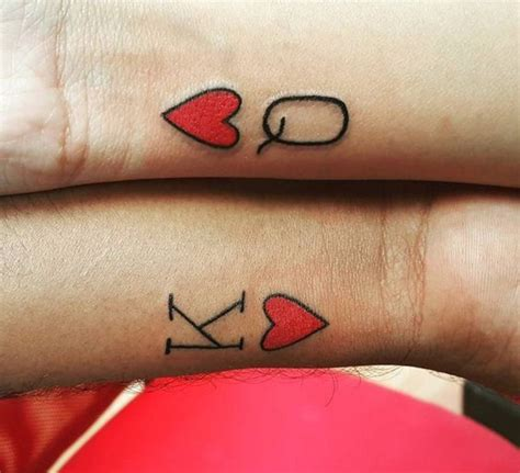 king and queen of hearts tattoo 30 king and tattoos tattoofanblog