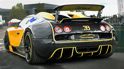 custom bugatti oakley design bugatti veyron custom 1145hp monster
