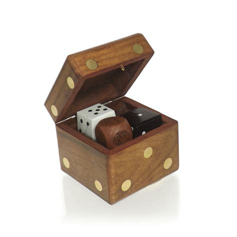 Wooden Decorations For Home by Buy Wooden Dice Trinket Box
